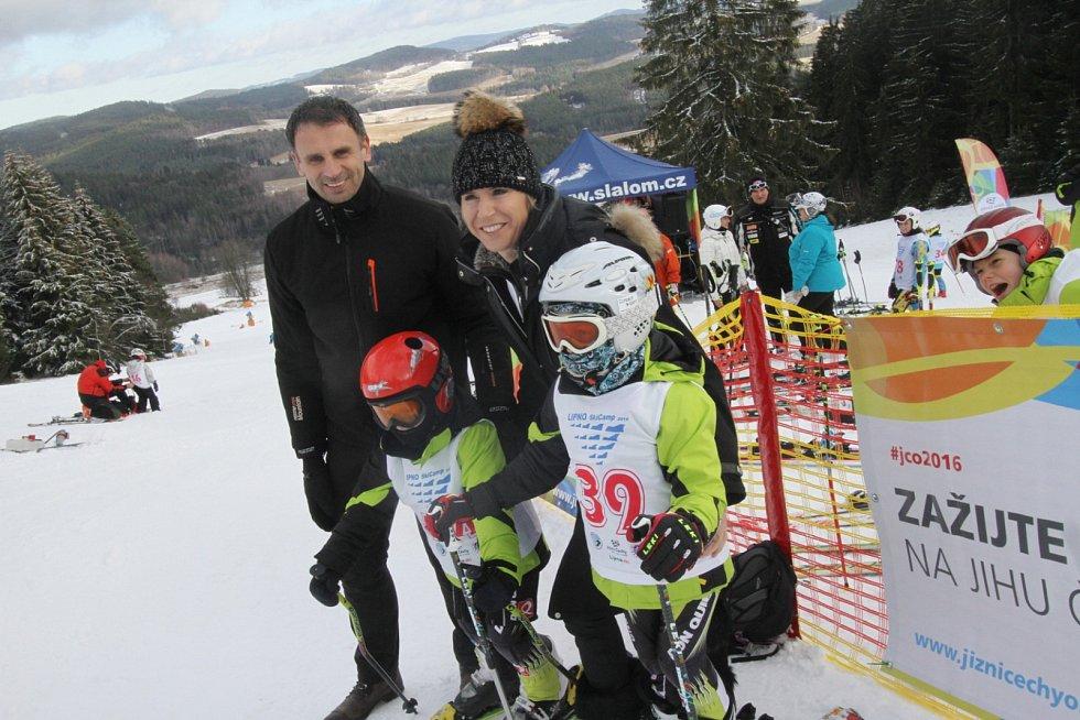 Zahájení projektu Jižní Čechy olympijské, hejtman Jiří Zimola