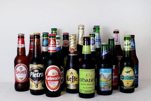 Usousedů pořádali Pivní Euro.
