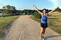Záda jí vydržela i 100 kilometrů pochodu!