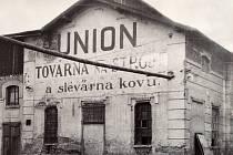 Továrna UNION před 1. světovou válkou.