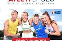 Logo gigantické atletické akce.