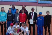 Výsledky trojutkání mladých tenistů