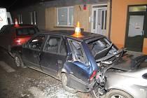 Dopravní nehoda podnapilého ředitele Stanislava Matouška.