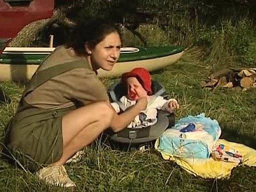Šestiměsíční Matěj Madar ztělesnil dceru herečky Marthy Issové.