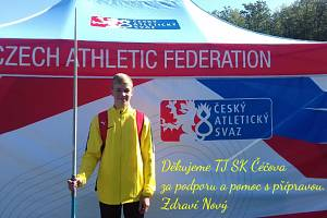 V oštěpařském sektoru prokázal Ondřej Nový, že má talent.