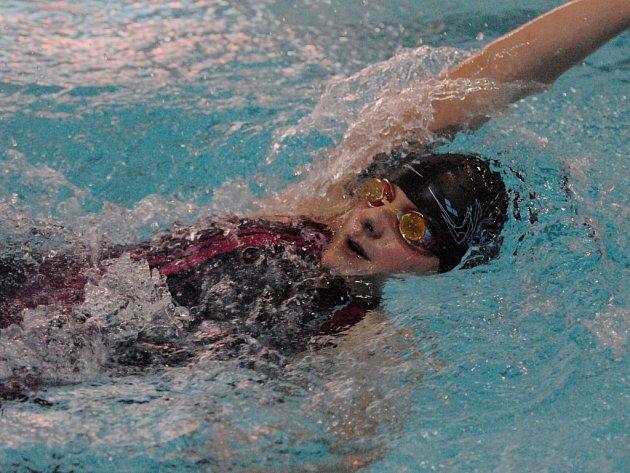 Dominika Hovorková patří k největším nadějím českobudějovického plavání.