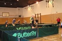 Stolní tenis se hraje v sokolovně v Suchém Vrbném, cvičí zde další sportovní oddíly i oddíly všestrannosti.