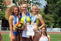 Tereza Babická se vrátila domů  s jihočeským rekordem.
