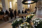 Pohřeb Mons. Jiřího Paďoura.