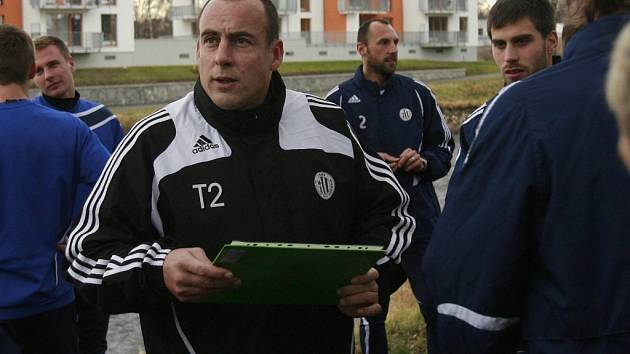 Jiří Lerch vedl na podzim juniorku i farmu Dynama.