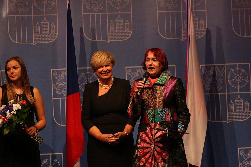 Hejtmanka vyznamenala osobnosti Jihočeského kraje.