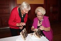 Pro seniory pořádají Eva a Milan Dvořákovi mnoho oblíbených akcí. Podle Evy (na snímku vpravo) je výsada být ,starý'.