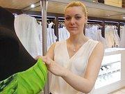 Modely, které se budou prodávat na charitativní akci Srdce Jihočeské televize 2. dubna v IGY centru.