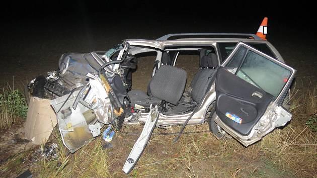 Čtyřicátou obětí silničních nehod se stala 39letá řidička po srážce s o rok starším řidičem ve Št