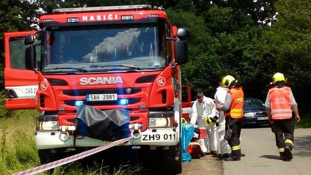 Tragická nehoda na přejezdu u Nedabyle