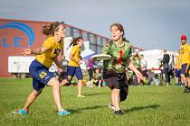 Na seznámení s mladým sportem ultimate frisbee (česky zvaným létaná), zvou na budějovický Sokolský ostrov hráči klubu 3SB v úterý 11. 9: od 16 do 18 hodin.