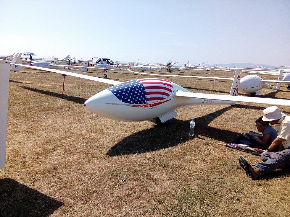 Hosín je dějištěm MS v bezmotorovém létání