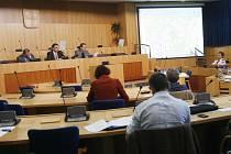 Zasedací místnost krajského úřadu. Ilustrační foto.