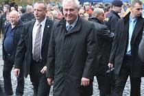 Miloš Zeman. Ilustrační foto.