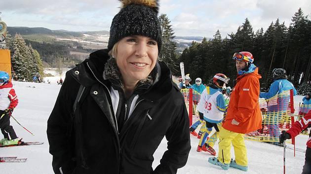 Zahájení projektu Jižní Čechy olympijské, Kateřina Neumannová