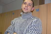 Rakouský legionář Petr Leština je dnes už také nadějným trenérem stolně - tenisové mládeže na Sokolu v Č. Budějovicích.