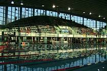 VODA. Plavecký stadion v Českých Budějovicích bude dějištěm 42. ročníku Velké ceny města České Budějovice.