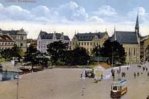 Městská váha na Senovážném náměstí po roce 1909.