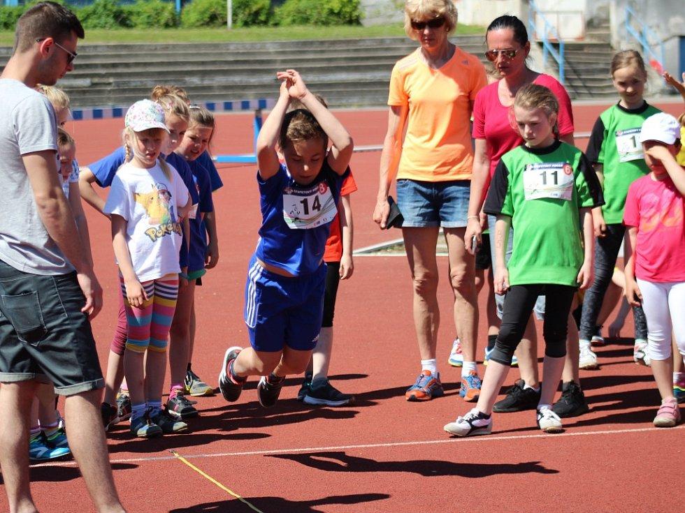Sokol České Budějovice pořádal ve čtvrtek 18. května Štafetový pohár. Krajského finále se zúčastnilo kolem tří set dětí.