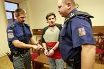 Marcel Šeda u soudu.