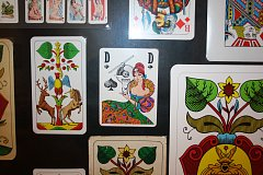 Výstava karet v Jihočeském muzeu je přístupná do 14. ledna 2018.