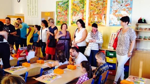 První školní den v ZŠ J. Š. Baara