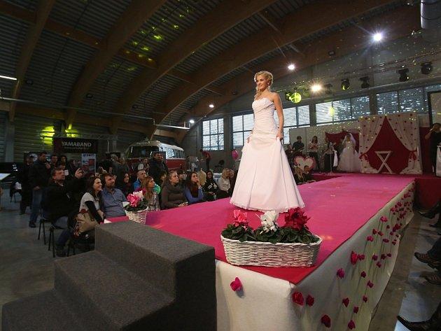 Svatební veletrh na českobudějovickém výstavišti.