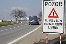 Uzavírka rekonstruovaného obchvatu Vodňan ovlivňuje dopravu také na Českobudějovicku.
