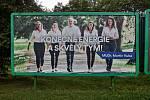 Předvolební billboard ODS. Známka odborníka na marketing: 1-.