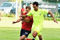 Fotbalový krajský přebor Osek - Čimelice
