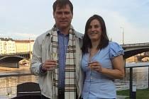 Emil Kristek s manželkou Helenou
