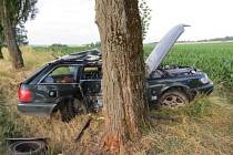 Nehoda na Jindřichohradecku.