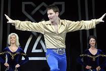 Nové kostýmy přiveze v úterý Lord of the Dance do budějovické Budvar arény. Snímek z ostravského vystoupení letos v únoru.