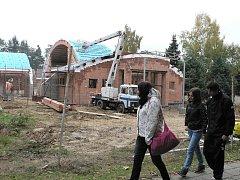 Přístavba kulturního domu v Trhových Svinech nabídne víceúčelový sál.