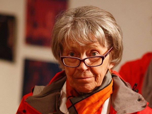Stovky animovaných filmů promítne od 5.do 10.května festival Anifilm vTřeboni. Na snímku Vlasta Pospíšilová, jež vTřeboni převezme cenu za celoživotní dílo.