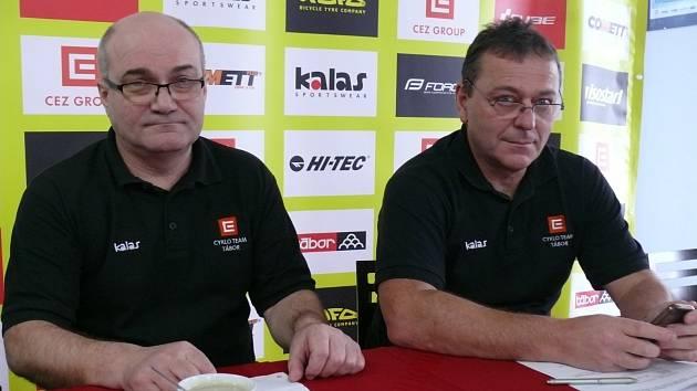 Cyklisté ČEZ CT Tábor vkročili do sezony v roce 2018.