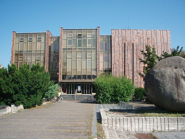 Jihočeská vědecká knihovna v Českých Budějovicích.