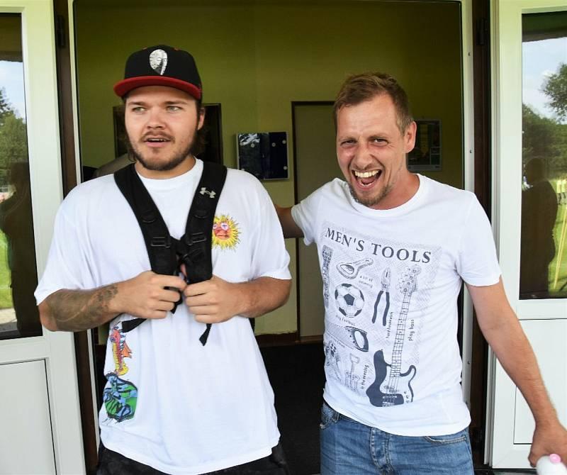 Nový gólman hokejistů Motoru Dominik Hrachovina.