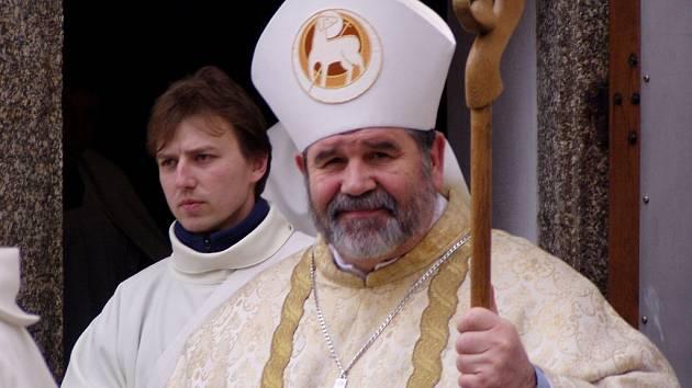 Biskup Jiří Paďour.