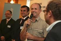 Adolf Sieber na slavnostním vyhlášení Živnostníka roku 2009