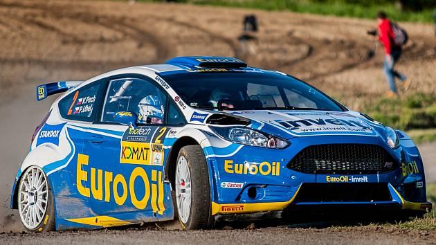 Václav Pech bývá pravidelným účastníkem Rallye Český Krumlov.