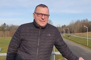 První muž českého cyklokrosu Petr Balogh.