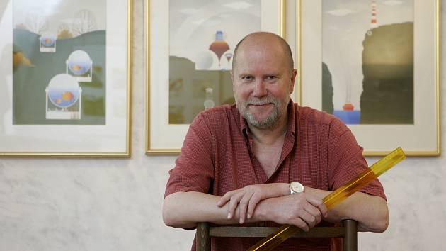 Sedmdesáté narozeniny oslaví 6. července rodák z Českých Budějovic Václav Johanus.