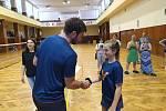 Badmintonistům v Sokole České Budějovice předával vysvědčení Petr Koukal