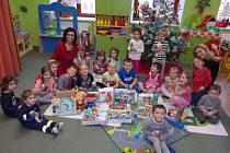 I ve školce v Žimuticích se řádně připravovali na příchod Vánoc.